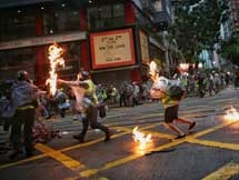Photos: Hong Kong Protests Erupted Into Violence