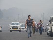 Photos: Air Pollution In New Delhi 2019