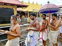 Photos: Sabarimala Temple Opens For Devotees 2019