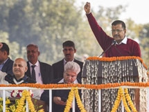 Photos: Arvind Kejriwal Sworn-in As Delhi Chief Minister