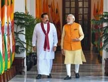 Photos: Sri Lanka PM Mahinda Rajapaksa 4 Day Visit To India