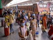 Photos: Railway Operations Resume In India May 12, 2020
