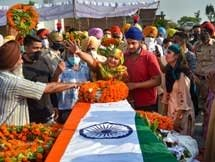 Photos: Last Rites Of 20 Indian Soldiers Who Were Martyred In Indo-China Clash