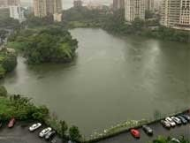 Photos: Heavy Rain Lashes Mumbai