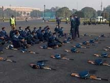 Photos: Republic Day Parade Rehearsal In New Delhi