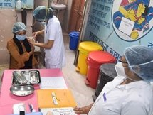Photos: First Round Of COVID Vaccination Drive Across India