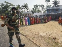 Photos: West Bengal Assembly Elections 2nd Phase - Polling