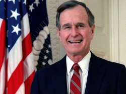 Former Us President George H W Bush 93 Hospitalised Again Says Spokesperson