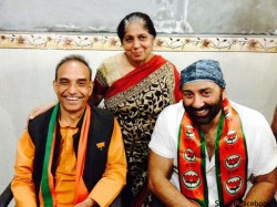 Actor Sunny Deol Holds Roadshow For Satyapal Singh In Baghpat Lse