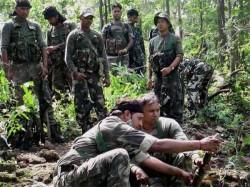 Naxal Ambush Planned Local Cadres Camping Bastar Chhattisgarh Police