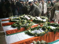 Mortal Remains Of Crpf Member Consigned To Flames
