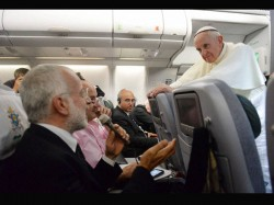 Pope Rows Back From Rabbits Comments Praises Large Families