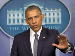 Left Parties Stage Protest Against Obama Visit