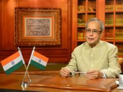 President Pranab Mukherjee Makes Speech On Eve Of 66th Republic Day