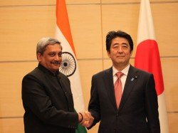After Modi Now Parrikar Bats For Strong Indo Japan Ties