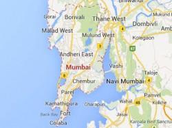 Speeding Mercedes Injures Five On Mumbai Pavement
