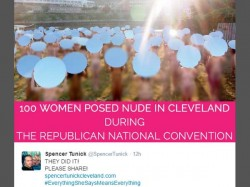 Over 100 Women Pose Nude Protest Against Trump Ahead Gop Convention