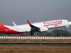 Spicejet Plane Skids Off Runway Passengers Safe Tiruapti