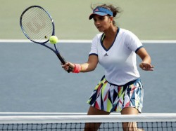 Sania Mirza Barbora Strycova Reach Quarterfinals Indian Wells Masters