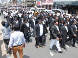 Legal Work Hampered Delhi As Lawyers Join Nationwide Strike