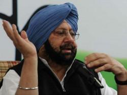 Syl Issue Can Trigger Return Terrorism Punjab Amarinder Singh