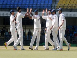 Irani Cup Gujarat Control As Rest India Struggle At 206 9 On Day