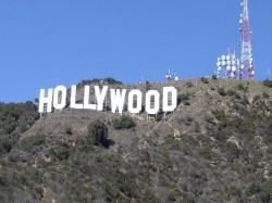 La Landmark Sign Hollywood Altered Hollyweed New Year