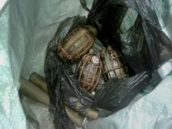 Unexploded Shells Grenades Found Near Ludhiana