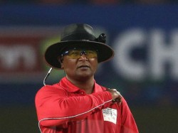 India Vs England Under Fire Umpire Shamshuddin Steps Down From 3rd T20i