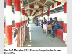 Myanmar Reopens Border Gate With Bangladesh After Four Months