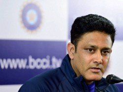 We Had Bad Day On Challenging Pitch Anil Kumble