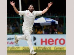 th Australia Test India Call Up Paceman Mohammed Shami