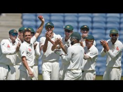 India Vs Australia 1st Test Match Report Day 2 From Pune