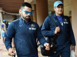 Virat Kohli Credits Anil Kumble Channelling His Aggression Some Extent
