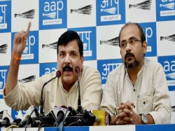 Aap Alleges Bjp Turning Civic Bodies Into Dens Corruption