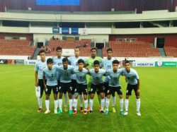 India U 17 Football Team Play Mali April Portugal England On Cards