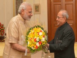 When President Pranab Mukherjee Profusely Praised Pm Modi