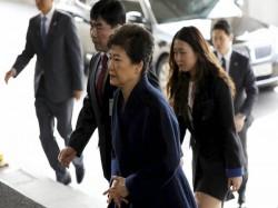 S Korea Former President Park Questioned Over 21 Hours