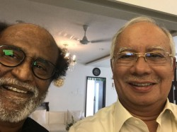 Malaysian Pm S Fan Moment Selfie With Tamil Superstar Rajin