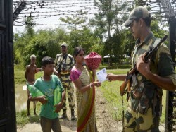 Tripura Families Affected Border Fencing Being Rehabilitated