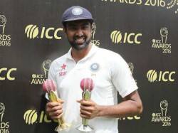 R Ashwin Receives Sir Garfield Sobers Trophy Thanks Team For Love Support
