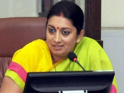 Such Incident Is Expected Ahead Gujarat Assembly Polls Smriti Irani Onbangles Thrown