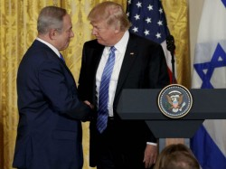 Donald Trump Working Very Hard Solve Israel Palestine Conflict