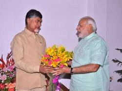 Modi Wishes Chandrababu Naidu Good Health On His 68th Birthday