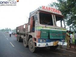 Killed In Tirupati Accident Had Come To File Complaint Against Sand Mafia