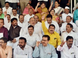 Maharashtra Assembly Ruckus Suspension Of All 19 Mlas Revoked