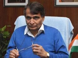 Indian Railways Launch More Solar Powered Coaches Suresh Prabhu