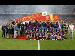 Copa Del Rey Messi Neymar Shine As Barcelona Win Third Straight Final