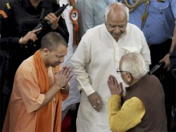 Ruckus Marks Yogi Adityanaths First Up Assembly Session