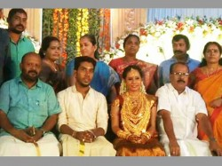 Daughters Extravagant Wedding Lands Kerala Cpi Leader Geetha Gopi In Trouble